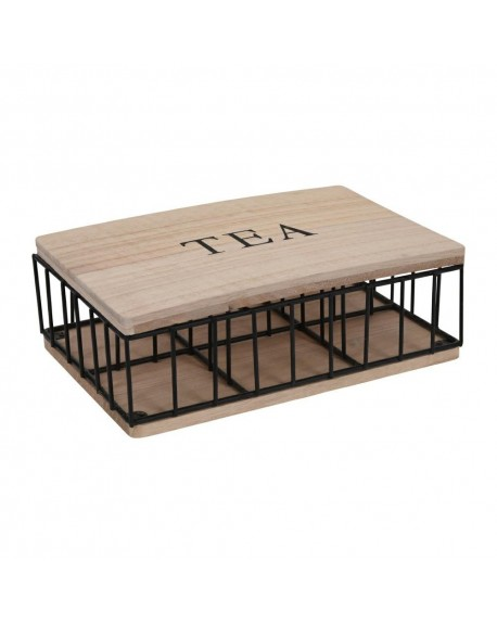 Pudełko na herbatę Crate