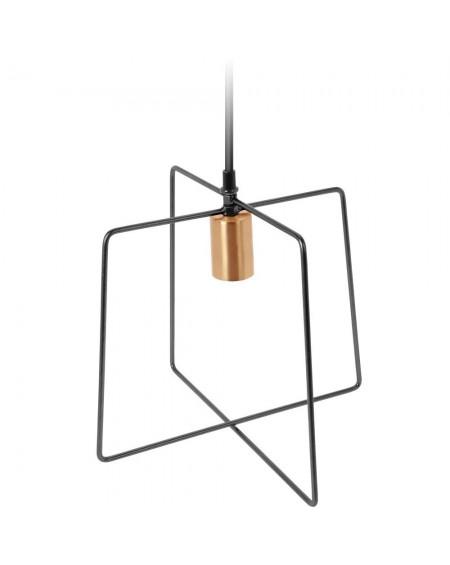 Lampa wisząca metalowa Squary
