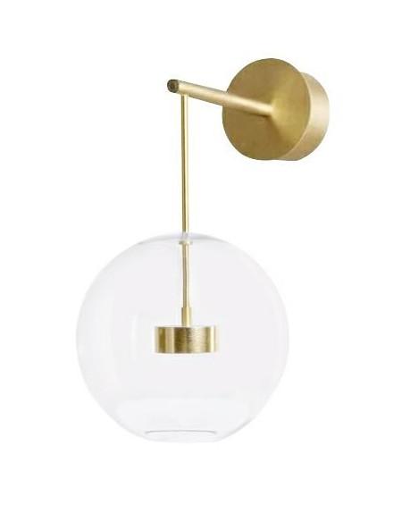 Kinkiet Capri złoty - LED