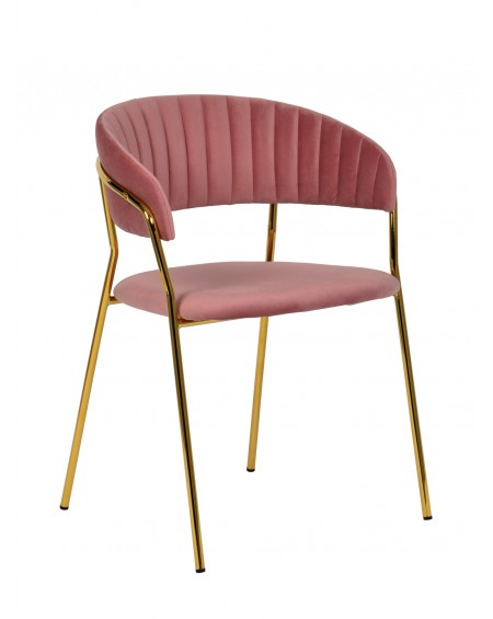 Krzesło welwetowe Milargo