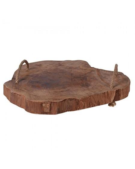 Deska drewniana ze sznurami