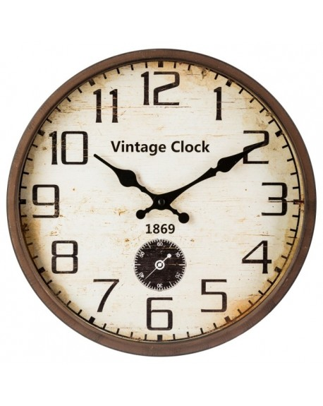 Zegar ścienny VINTAGE CLOCK