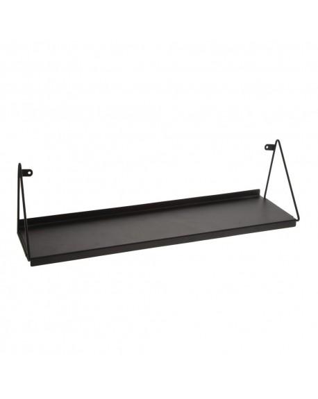 Półka metalowa czarna
