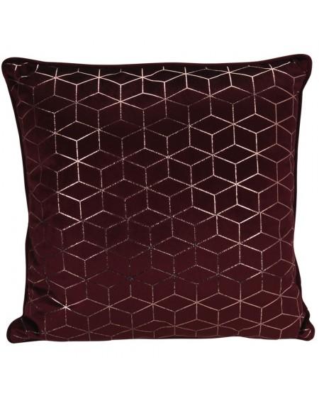 Poduszka dekoracyjna ze złotym zdobieniem