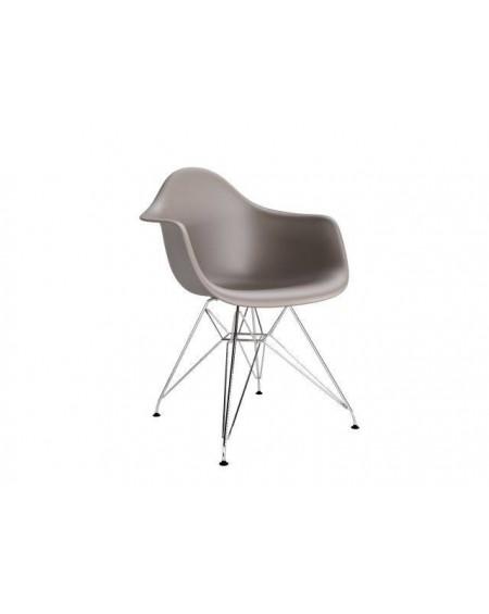 Krzesło Creatio Metal caffe latte