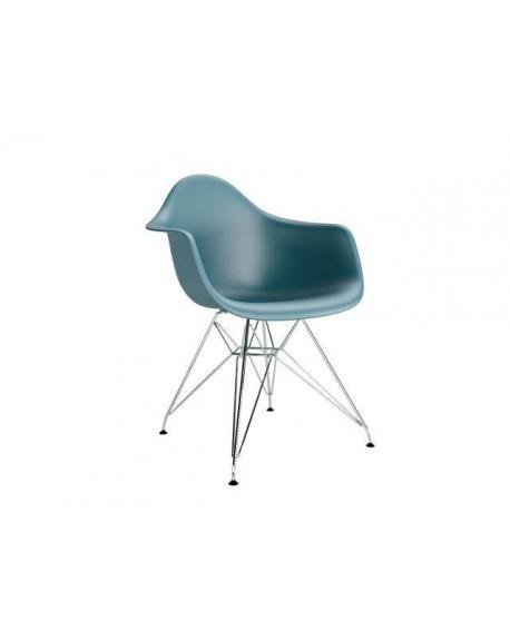 Krzesło Creatio Metal navy blue