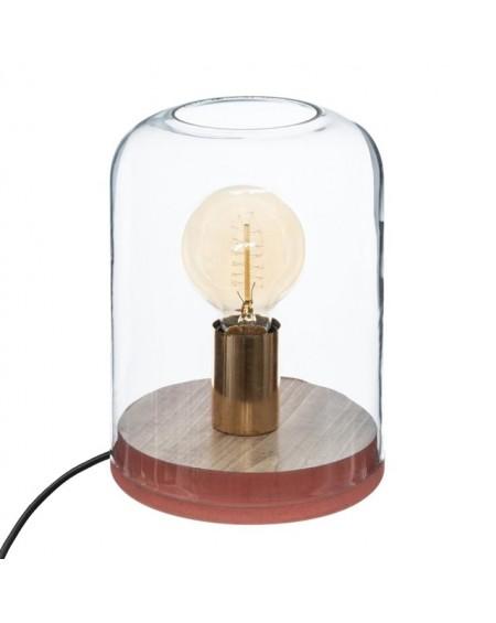 Lampa stołowa z żarówką