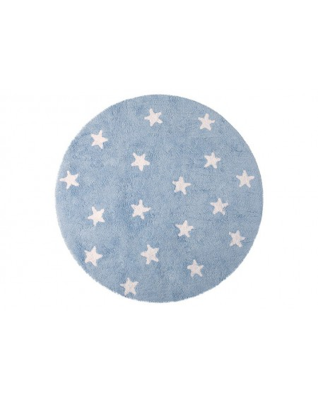 Dywan bawełniany Cielo blue