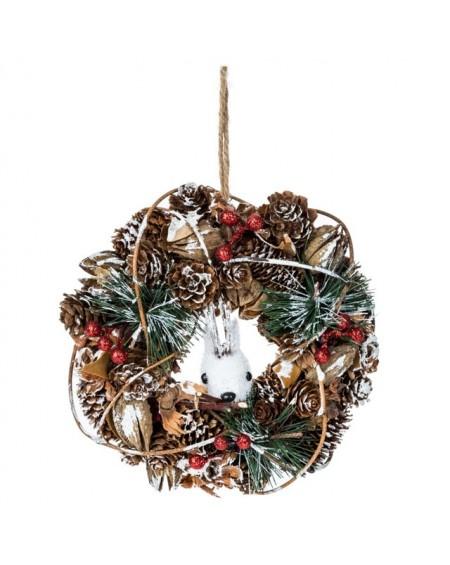 Dekoracja świąteczna - wianek