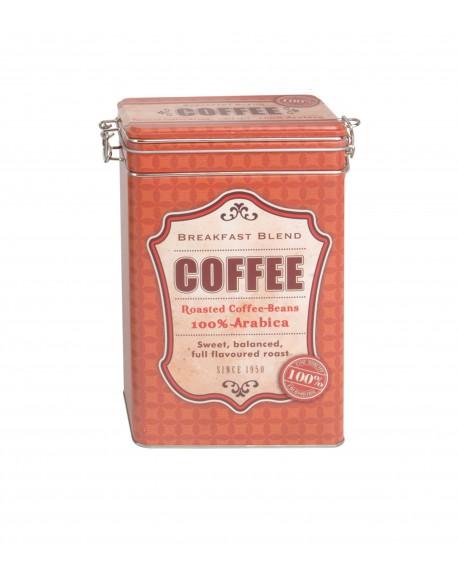 Puszka na kawę czerwona