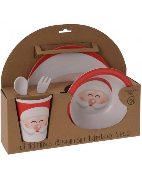 Zestaw naczyń dla dzieci Mikołaj