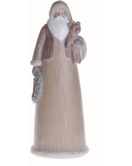 Figurka Mikołaj z misiem