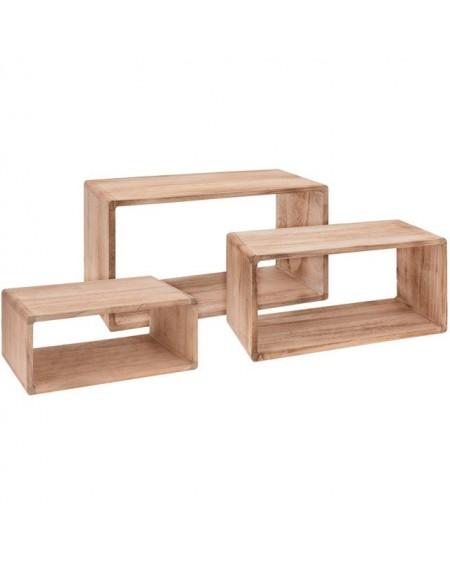 Półka drewniana komplet 3 szt.