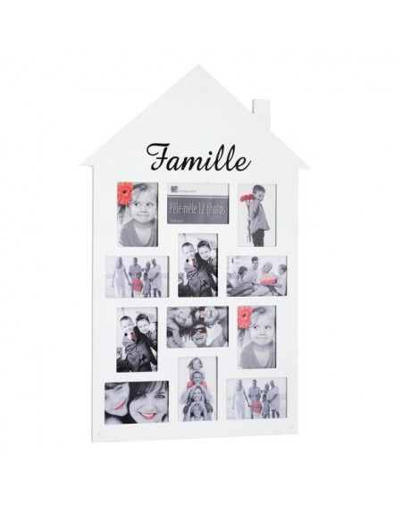 Ramka na zdjęcia - domek FAMILY
