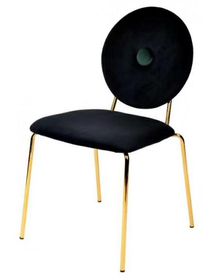 Krzesło tapicerowane Button