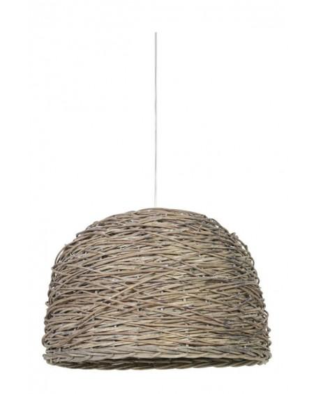 Lampa wisząca Rotti tkana