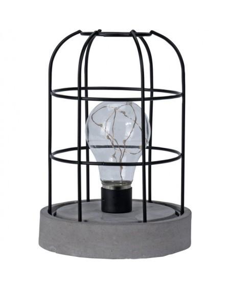 Lampion dekoracyjny z żarówką
