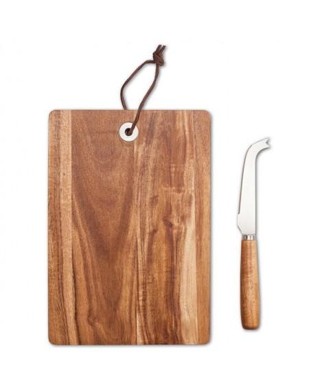 Deska do sera z nożem Cheddy