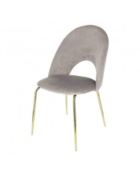 Krzesło welwetowe Marylove