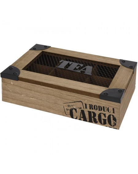 Pudełko na herbatę Cargo