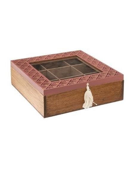 Pudełko na herbatę z chwostem