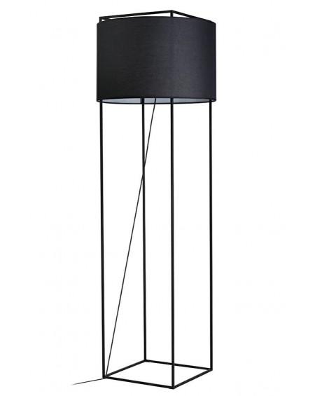 Lampa podłogowa Jordi czarna