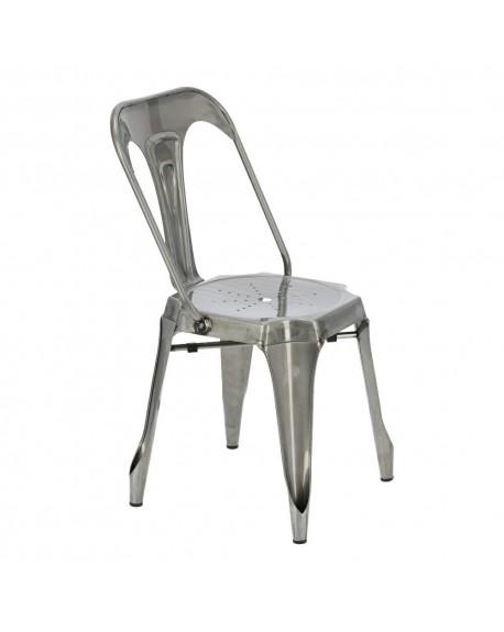 Krzesło metalowa loftowe Factoria