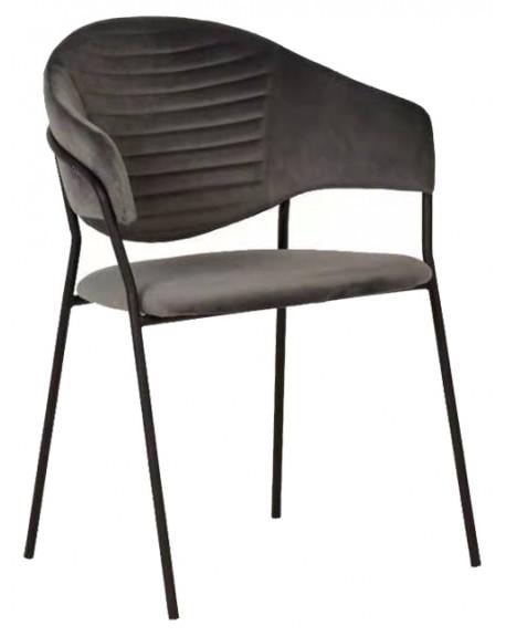 Krzesło fotel welur Nestia