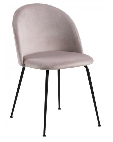 Krzesło z pikowanym oparciem Lombok