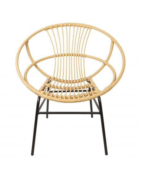 Krzesło fotel Rattan IV