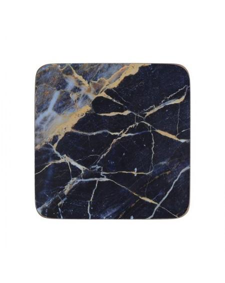 Podkładka korkowa 6 szt. Marble mała