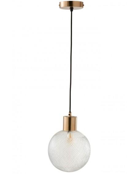 Lampa wisząca szklana Ball