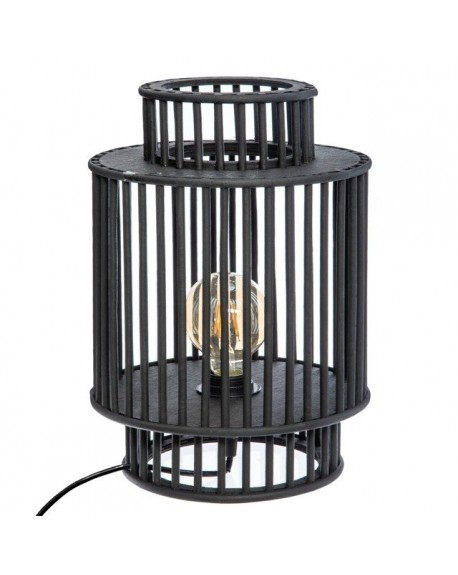 Lampa stołowa drewniana JAULA