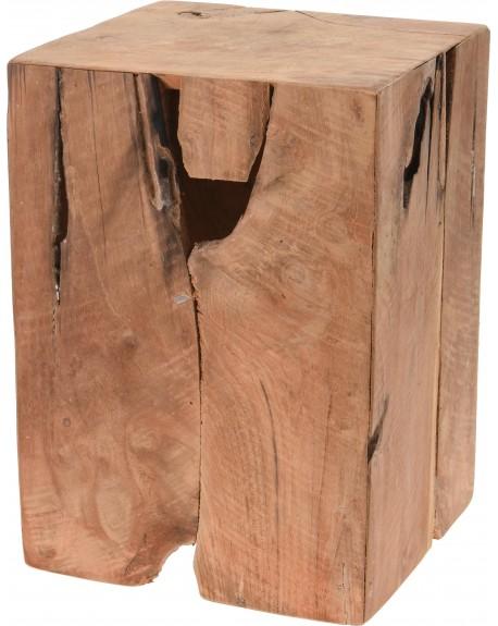 Stołek drewno tekowe Pablo
