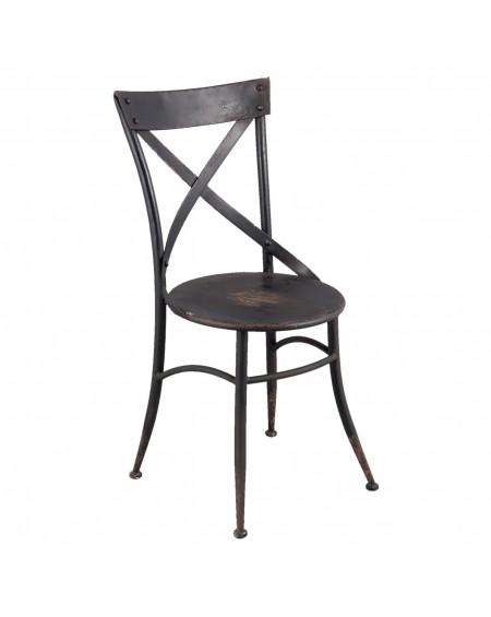Krzesło metalowe loftowe Warehouse