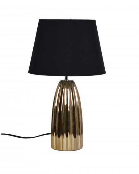 Lampa ceramiczna złota Classy I