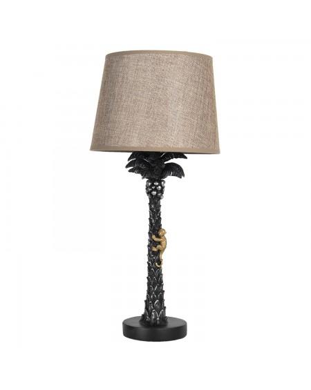 Lampa stołowa Monkey black