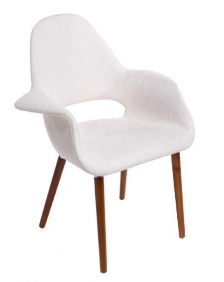 Krzesło Organic białe