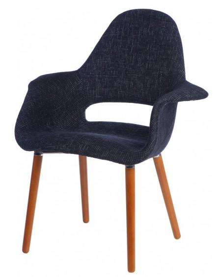 Krzesło Organic czarne