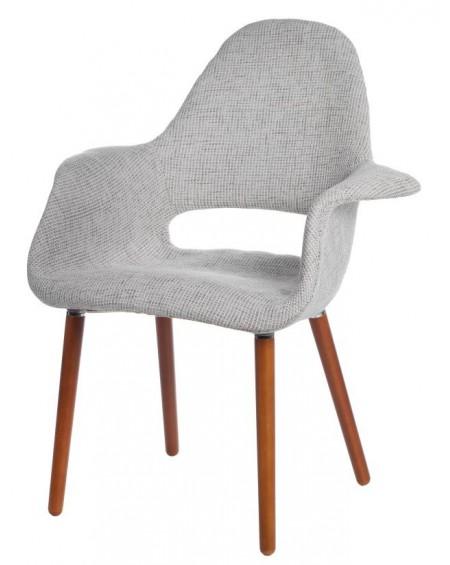 Krzesło Organic popielate