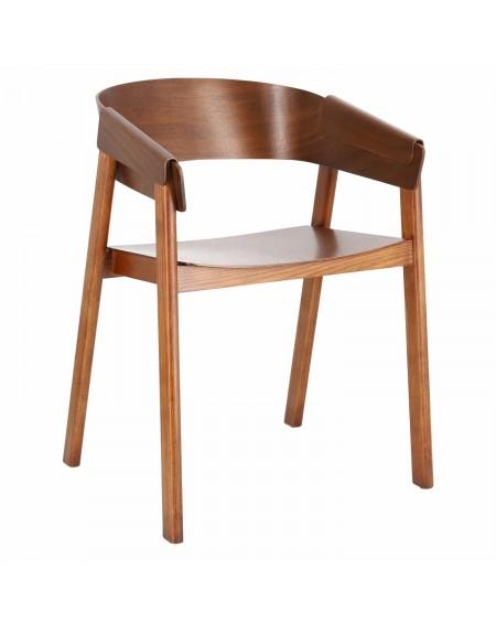 Krzesło Walnut z podłokietnikami