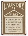 Szyld metalowy Laundry