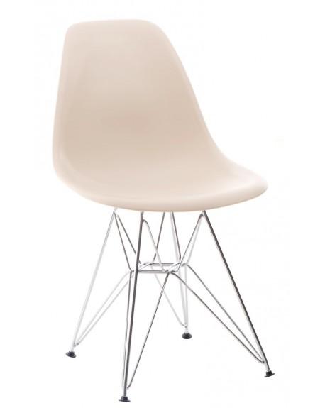 Krzesło Comet chrome beige