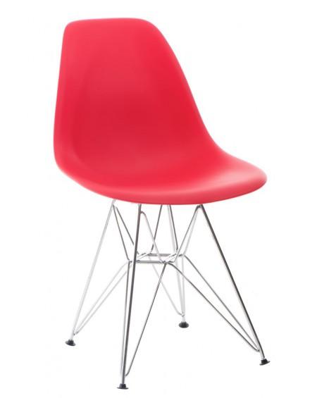 Krzesło Comet chrome red