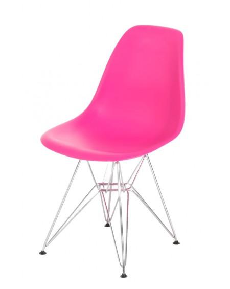 Krzesło Comet chrome pink