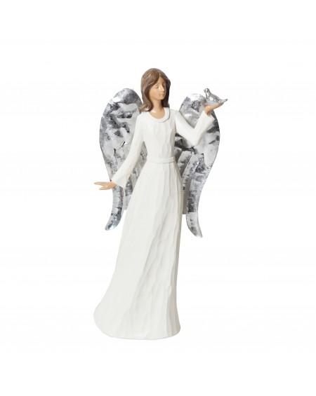 Figurka Anioł z gołąbkiem