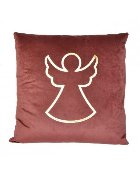 Poduszka welurowa z Aniołem