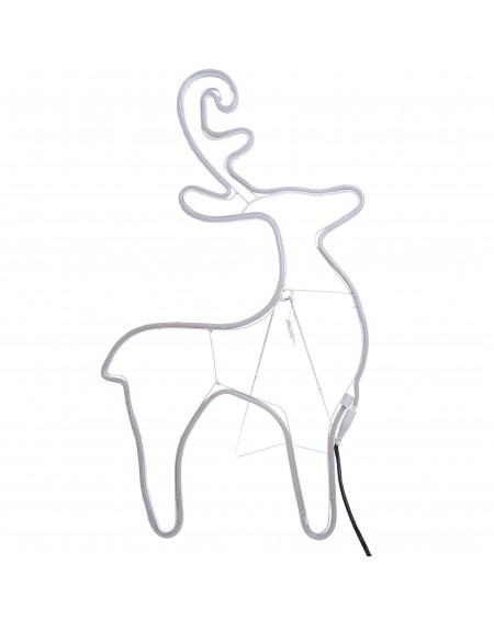 Renifer neon LED 75 cm
