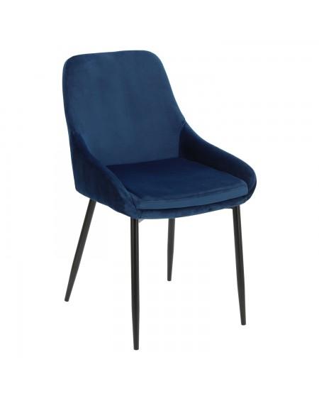 Krzesło welwetowe Flavia