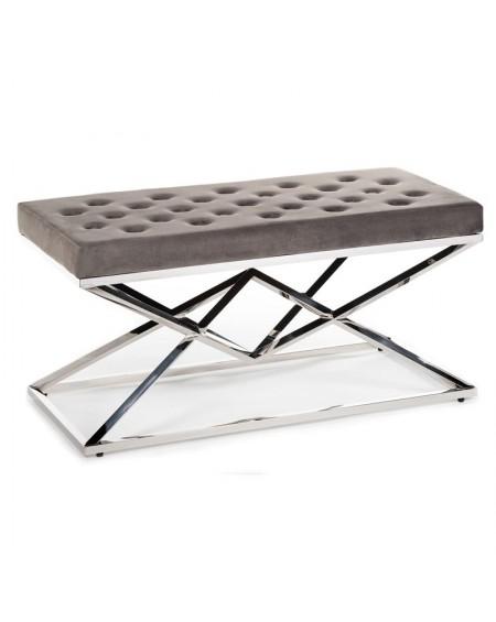 Pufa ławka pikowane siedzisko II